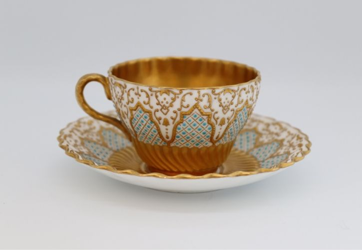 Coalport tea cup and saucer Image
