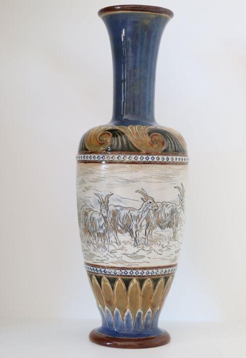 Doulton Hannah Barlow vase Image
