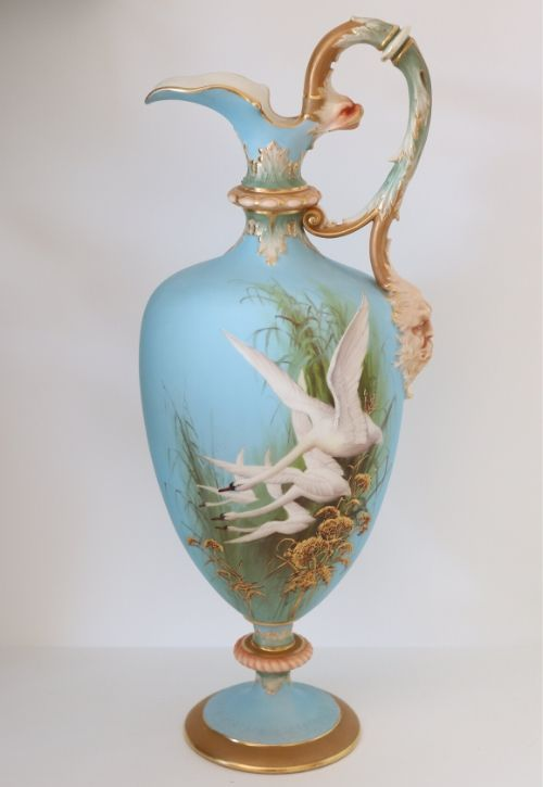 Royal Worcester Large Baldwyn Ewer Image