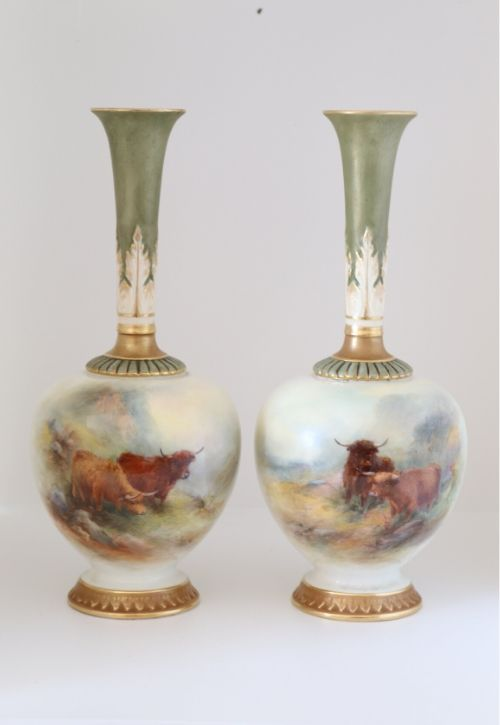 Royal Worcester Stinton Vases Image