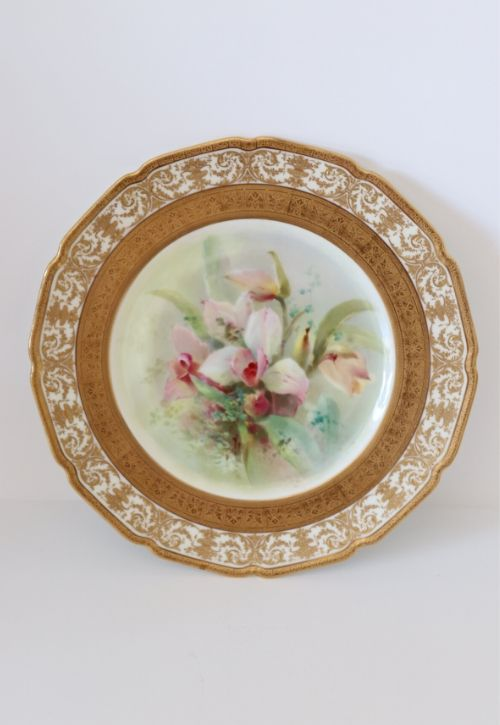 Doulton Plate (provenance Buckingham Palace) Image