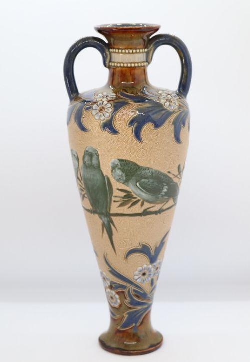 Doulton Florence Barlow vase Image