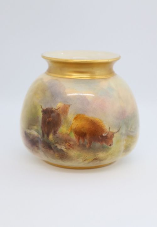 Royal Worcester Stinton small vase Image
