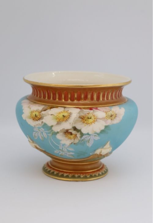 Royal Worcester small cachepot Image