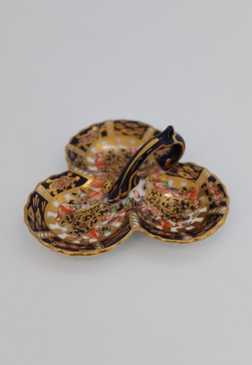 Crown Derby Miniature trefoil dish Image