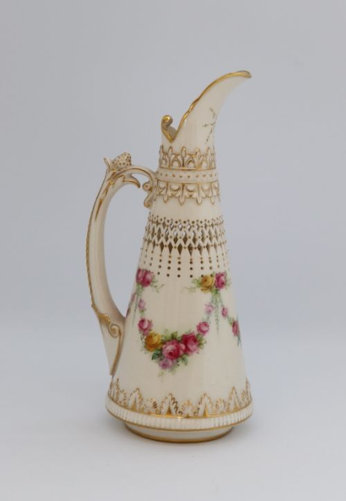 Royal Worcester George Owen Ewer Image