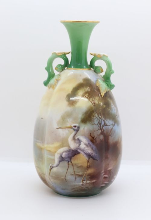 Royal Worcester Twin handled vase Image